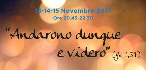 ESERCIZI SPIRITUALI DIOCESANI PER I GIOVANI- 13/14/15 NOVEMBRE